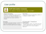 Staff Information Consumer