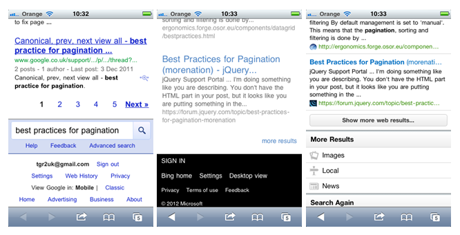 Designing Search (part 6): Interacting with results (1/6)