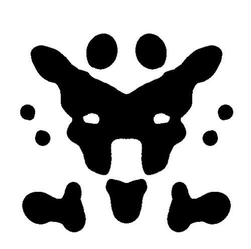 Search and the Rorschach ink blot: do you see what I see?