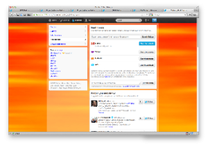 Fig. 21. Twitter.com Discover Workspace